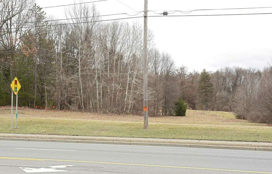 Land where a proposed Holocaust Memorial is set to be located is seen along Troy Schenectady Rd. on Friday, March 30, 2018 in Niskayuna, N.Y. (Lori Van Buren/Times Union) Photo: Lori Van Buren, Albany Times Union / 40043371A