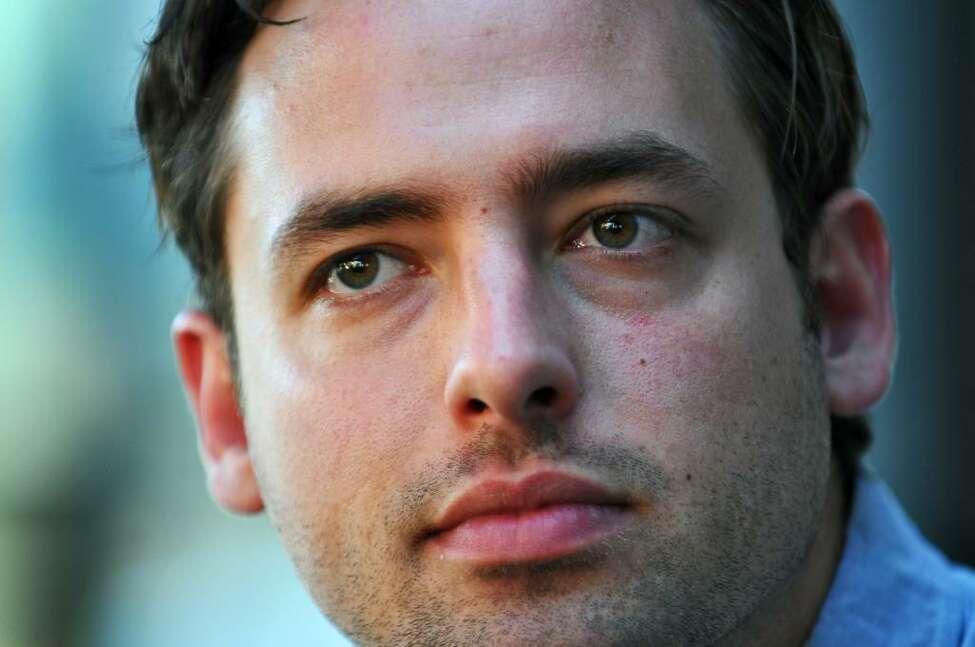 Joshua Carter of Phantogram. ( Philip Kamrass / Times Union)