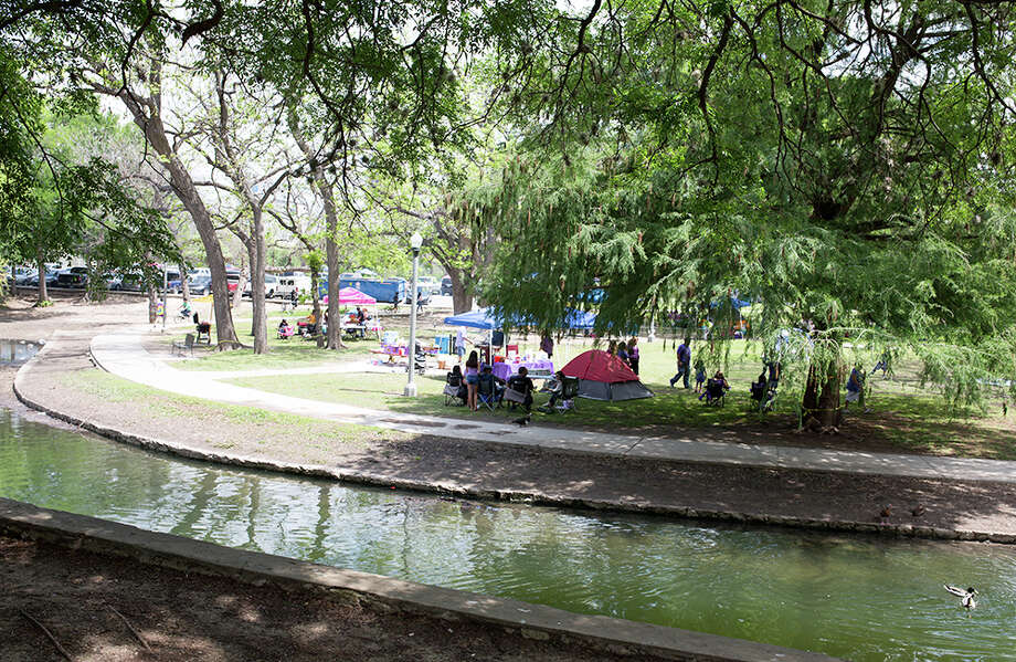 All city and county parks, as well as some areas managed by the San Antonio River Authority, will be closed for Labor Day weekend to help slow the spread of COVID-19. Photo: B. Kay Richter For MySA