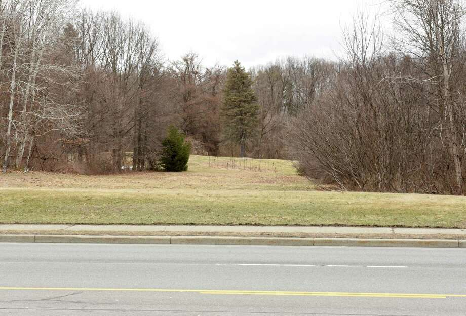 Land where a proposed Holocaust Memorial is set to be located is seen along Troy Schenectady Rd. on Friday, March 30, 2018 in Niskayuna, N.Y. (Lori Van Buren/Times Union) Photo: Lori Van Buren / 40043371A