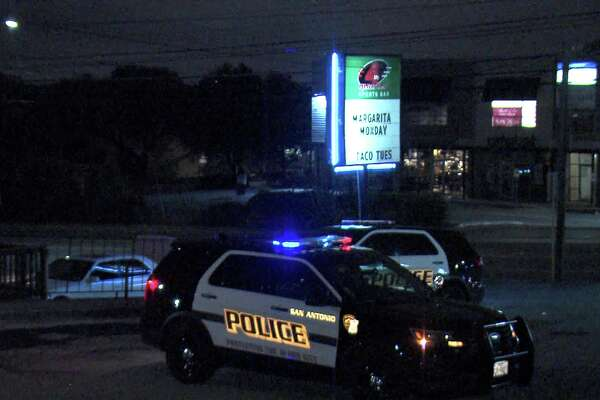 The victim and the suspect in the shooting got into a fight around 1:30 a.m. at the 4th Quarter sports bar in the 8700 block of Wurzbach Road. The fight spilled out into the parking lot, where the suspect shot the victim in the leg.