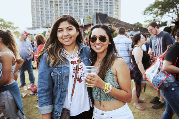 The Capitol One JamFest hosted a capacity crowd at Hemisfair Park on Easter Sunday, April 1, 2018. Daya, Panic! At The Disco, One Republic and Maroon 5 played the JamFest to close out three days of free music festivals during Final Four weekend in San Antonio.