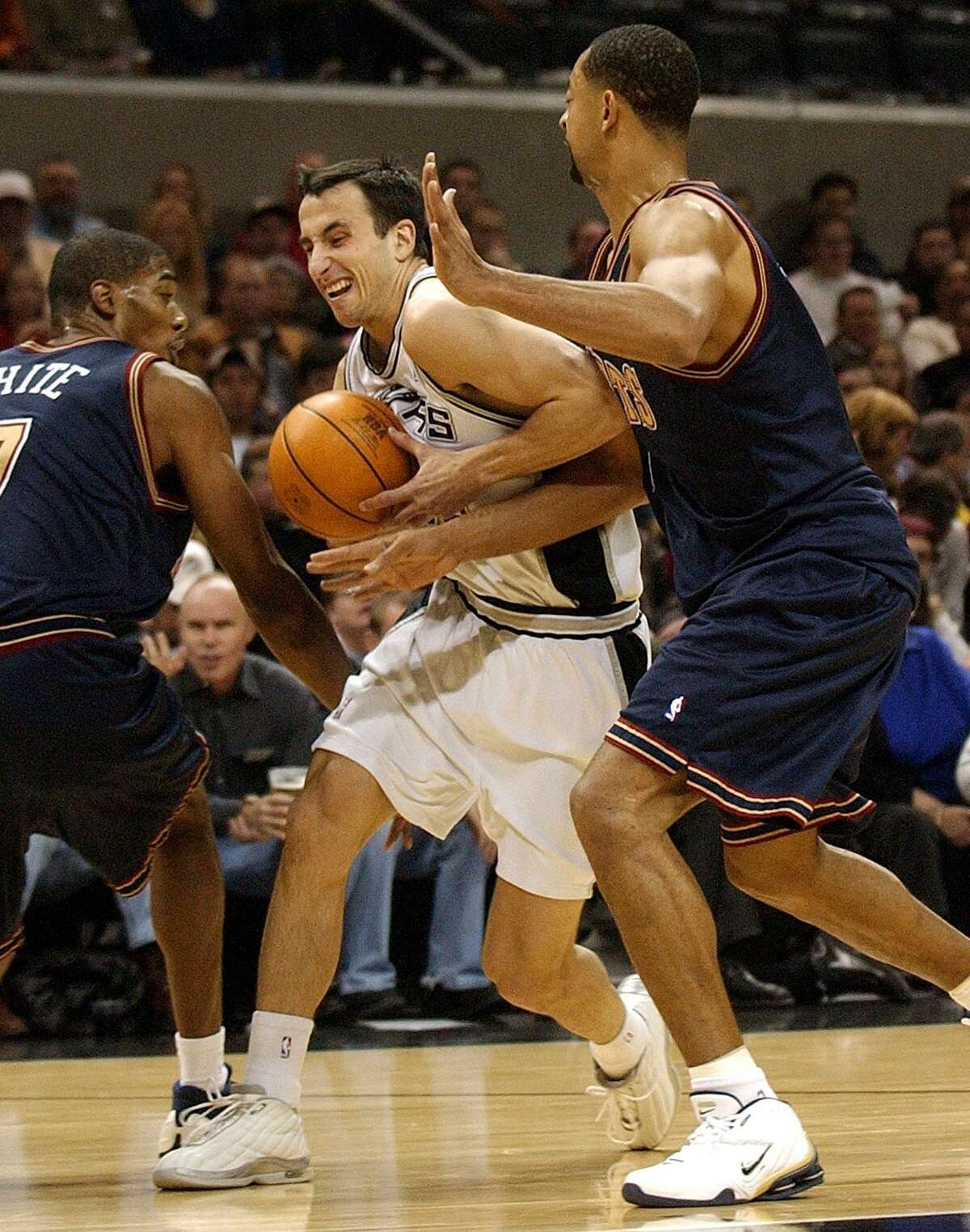 Manu Ginobili had to adjust to Gregg Popovich early in his career.