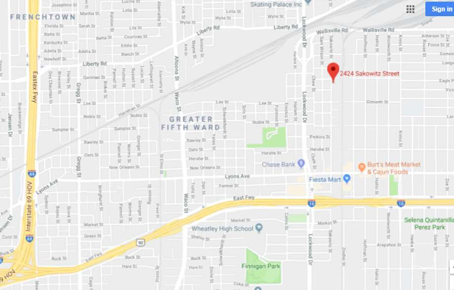 A man was found in a ditch near Sakowitz and Colfax, Monday morning, April 2, 2018.