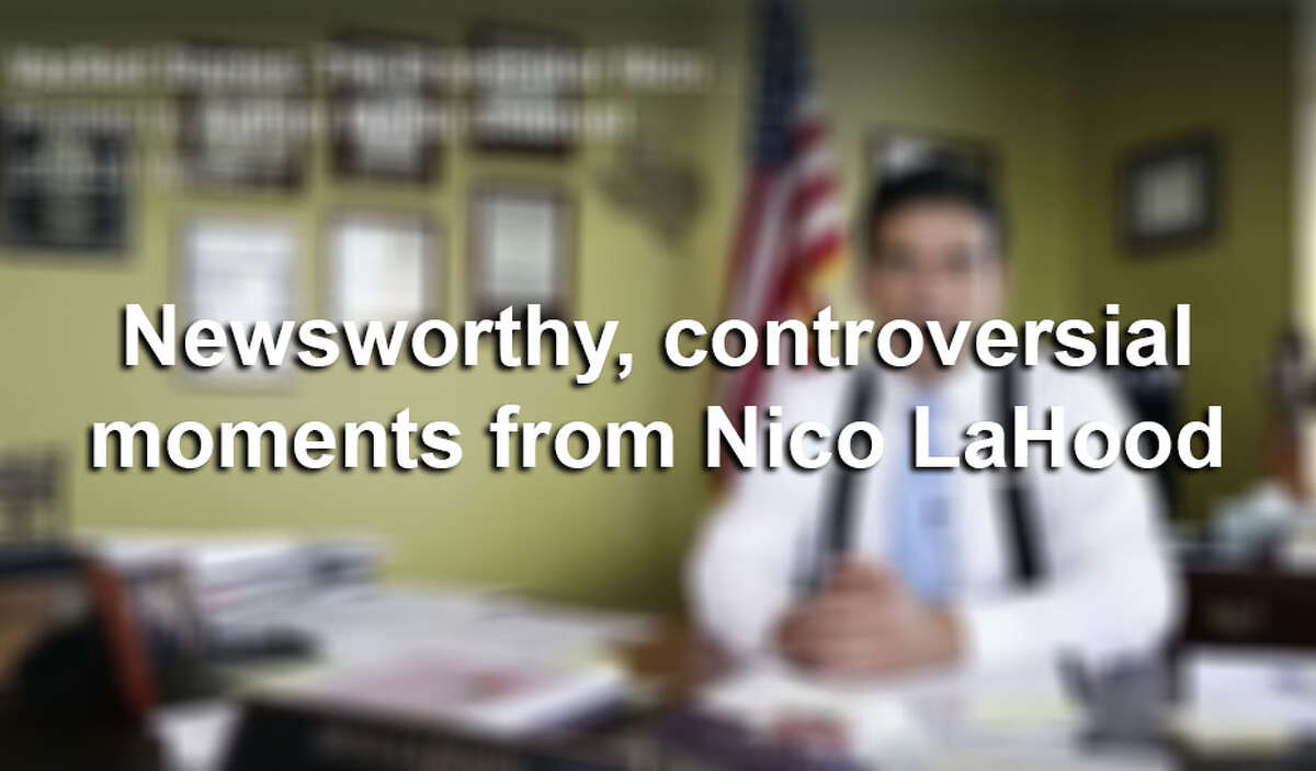 Click ahead to revisit controversial moments from Nico LaHood's time as Bexar County district attorney.