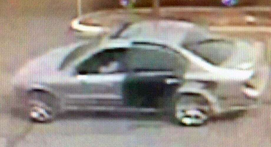 Fairfield police are looking for this car, which they believe is connected to a purse snatching  Sunday afternoon. Fairfield,CT. 4/2/18 Photo: Contributed / Contributed Photo / Fairfield Citizen