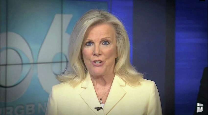 Liz Bishop of CBS 6 was featured in a Deadspin composite video showing Sinclair Broadcast Group stations reading a scripted statement warning against