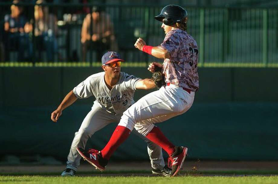 A new minor league rule this year, which will include the Great Lakes Loons and the Midwest League, requires that each half inningafter the ninthinning begin with a runner on second base.(Katy Kildee/kkildee@mdn.net)