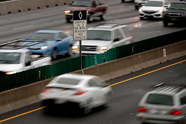 1of3traffic In The Car Pool Lanes Along Interstate 80 Freeway Berkeley Calif On Tues March 20 2018 Photo Michael Macor Chronicle