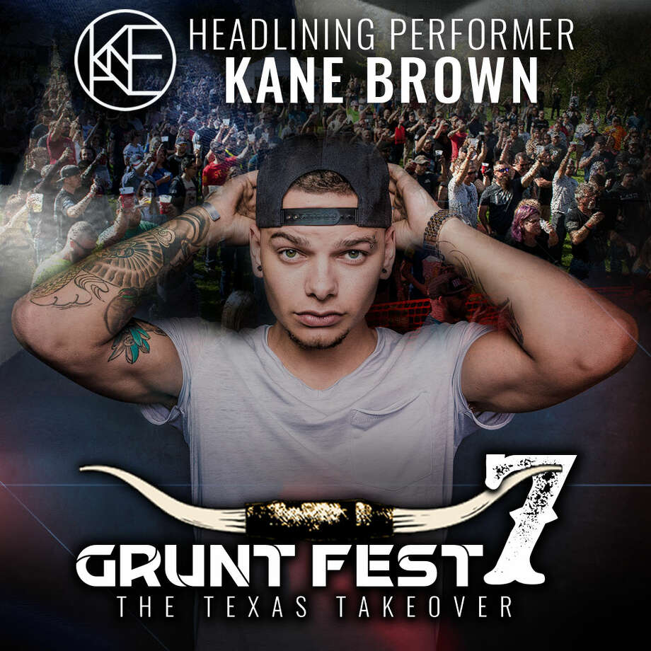 Kane Brown will headline Grunt Fest 7 in San Antonio on Saturday, April 7, 2018. Photo: Courtesy Grunt Style