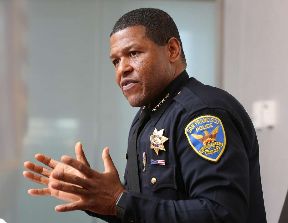 San Francisco Police Chief Bill Scott is reportedly in the running for the Los Angeles Police Department's top job. Photo: Liz Hafalia / The Chronicle
