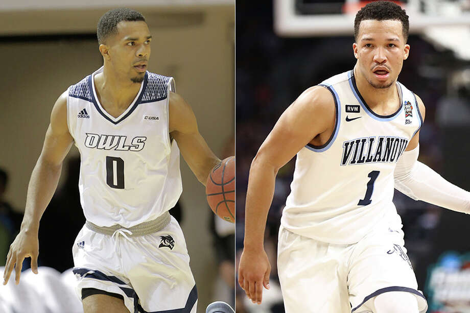Rice's Connor Cashaw (left) and Villanova's Jalen Brunson teamed to win a high school state championship in Illinois before going their separate ways for college. Photo: Houston Chronicle File And News Services