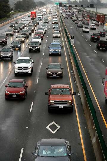 Testing high-tech cameras where it counts: aimed at carpool-lane