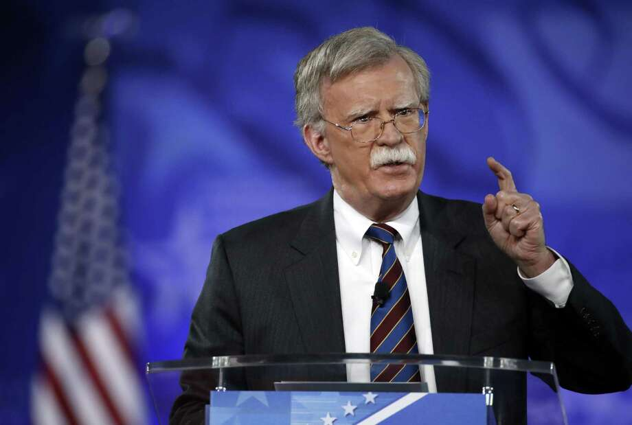 Former U.S. Ambassador to the UN John Bolton speaks at the recent Conservative Political Action Conference (CPAC). A reader criticizes his appointment as National Security Adviser. Photo: Alex Brandon /Associated Press / Copyright 2017 The Associated Press. All rights reserved.