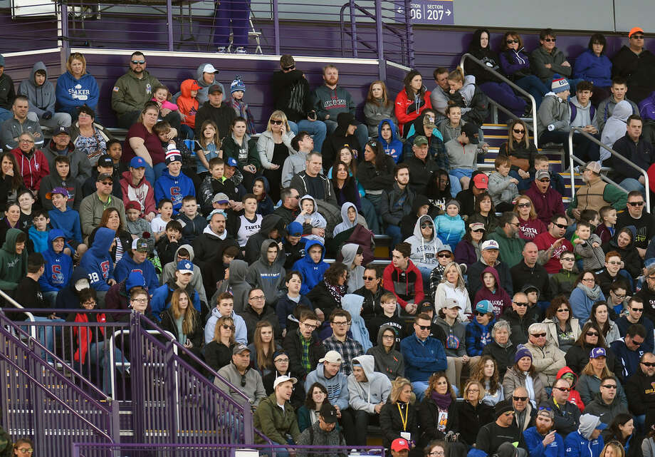 UAlbany men's lacrosse drew 4,044 fans, the third-largest home crowd in program history, for its victory over Stony Brook on Saturday. (Hans Pennink/Special to the Times Union)