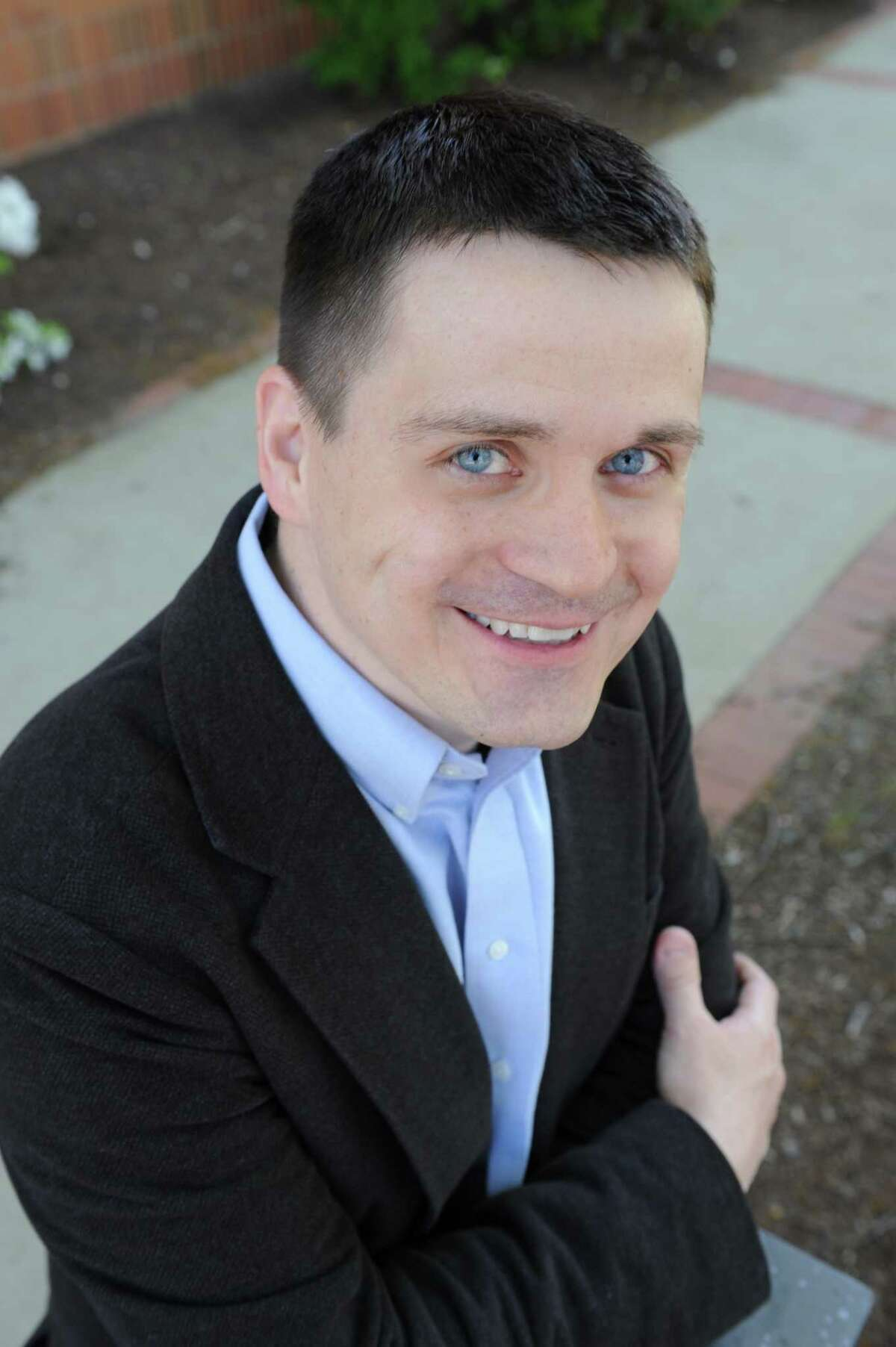 NCCC's Mad River Literary Festival will held in Winsted, April 10-11. Above, author Daniel Donaghy.