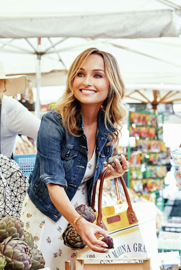 Giada De Laurentiis says she pays homage to Italy's beach towns in her new cookbook. Photo: Clarkson Potter / Clarkson Potter
