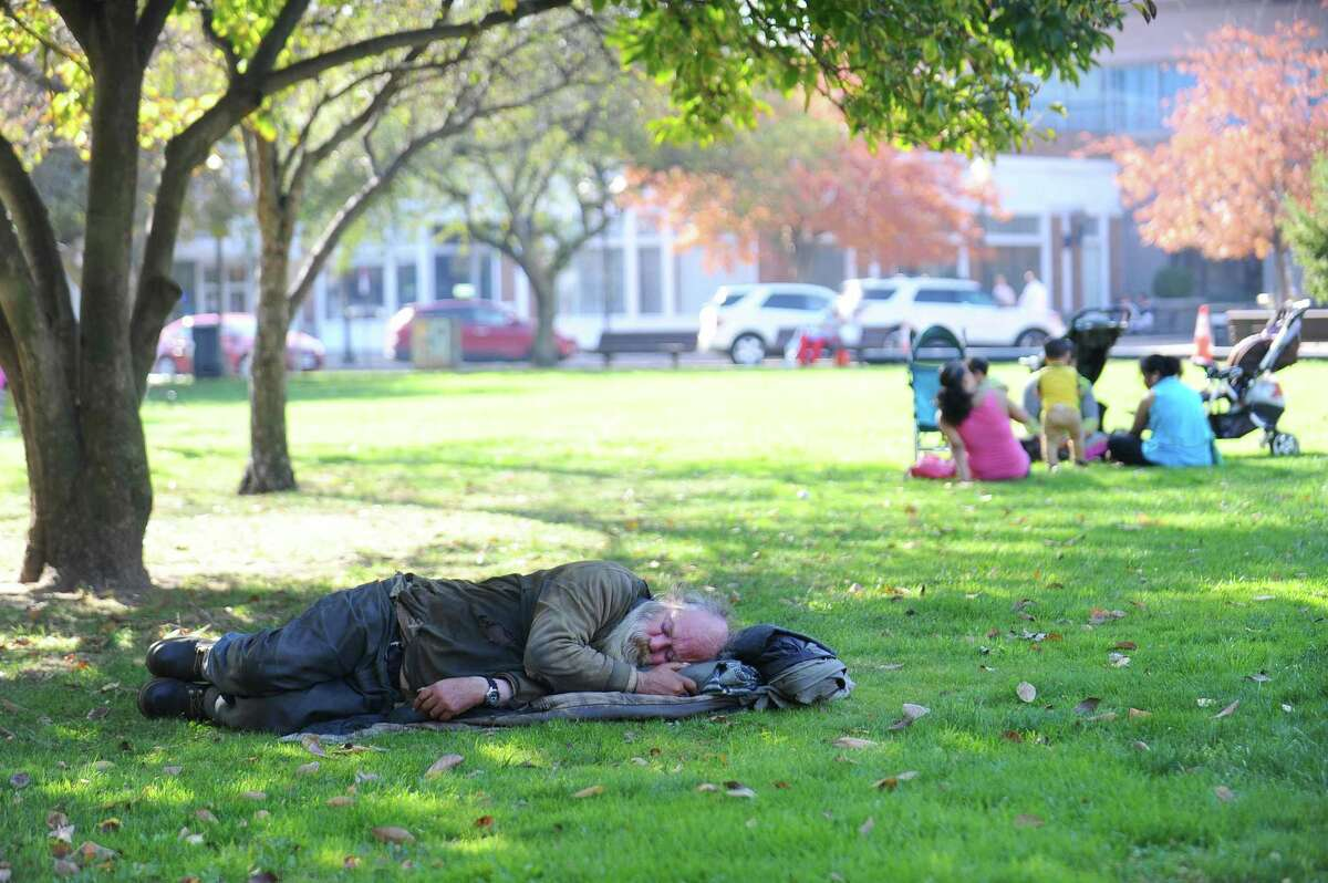 The homeless problem in Stamford isn't going away, according to Inspirica CEO Jason Shaplen.