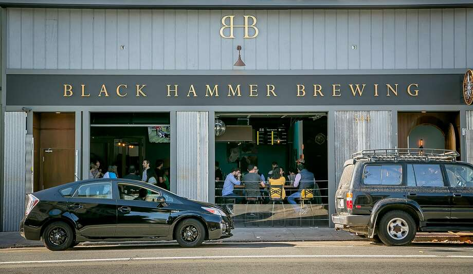 Black Hammer's CBD beers will now be available only at the SoMa taproom. The brewery plans to open a second taproom in the Castro. Photo: John Storey / Special To The Chronicle 2015