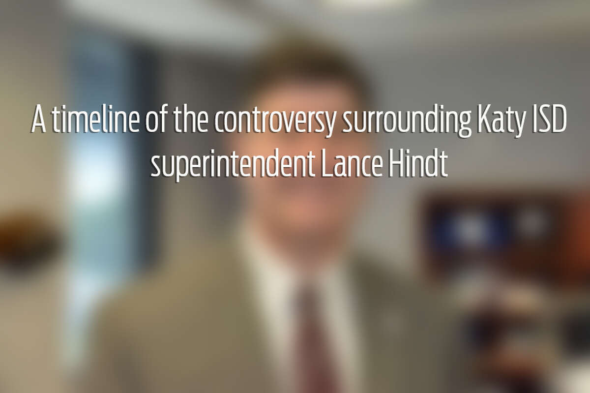 Swipe through to learn more about what's been going on with Katy ISD superintendent Lance Hindt.