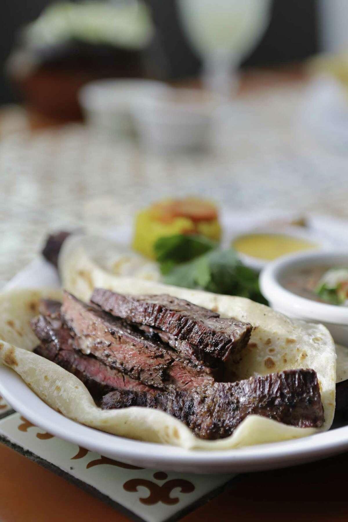 Tacos al carbon from the Original Ninfa's on Navigation.