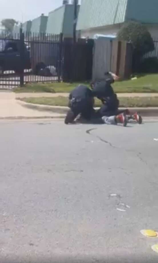 A video showing the violent arrest of 35-year-old Forrest Curry is sparking outrage among viewers.  SeeHouston area's notable crimes of 2018. Photo: NextGenAction