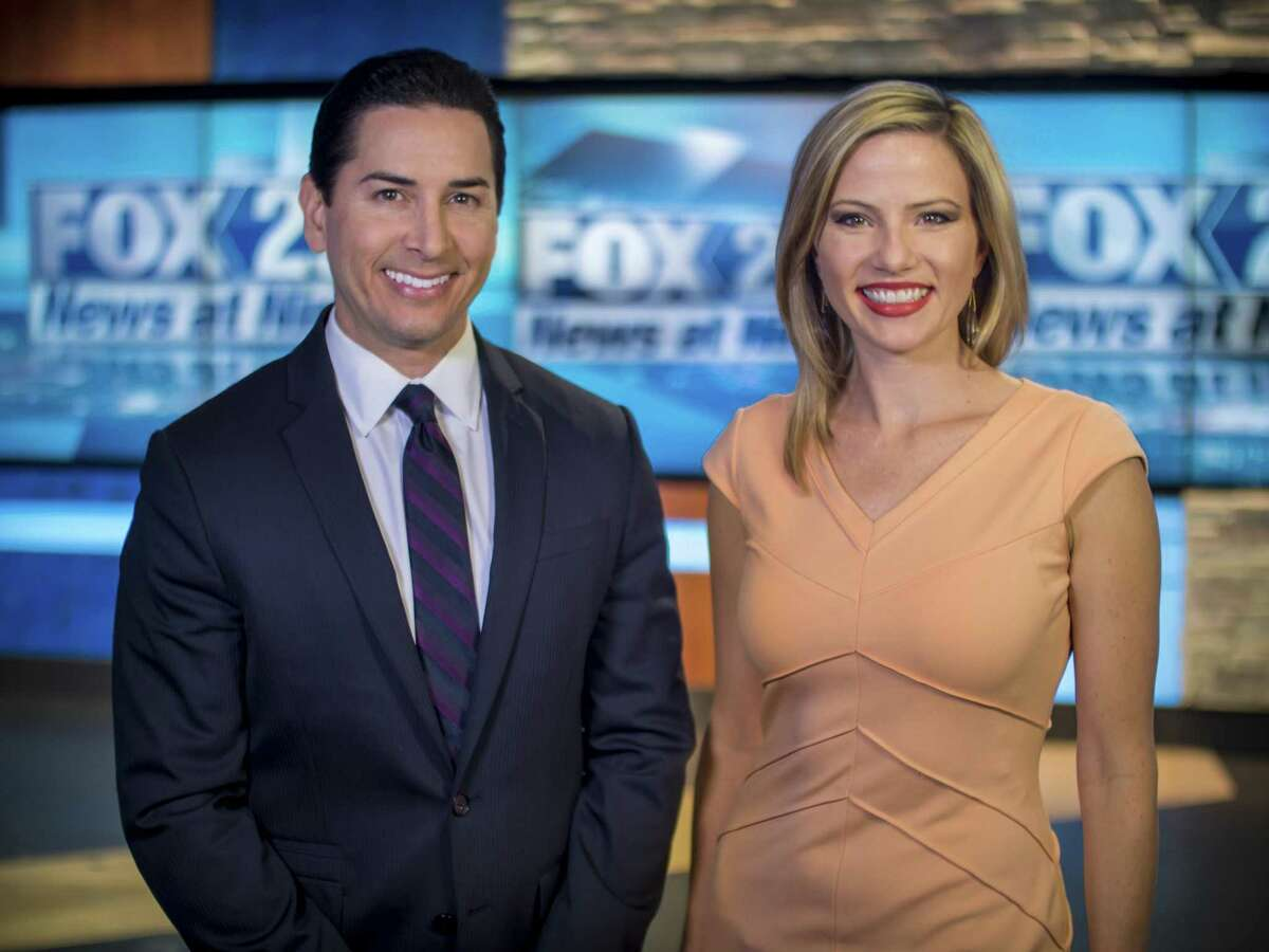 KABB's 9 p.m. anchor team Ryan Wolf and Jessica Headley have voiced an anti-media promo that's being recited by dozes of other newcasters at Sinclair-owned TV stations across the country.