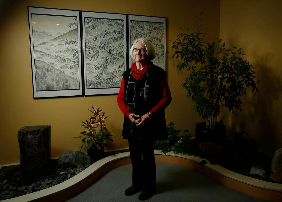 Family practitioner Ellen Barnett stands for a portrait at the Integrative Medical Clinic , Wednesday, March 14, 2018, in Santa Rosa, Calif. Barnett lost her home in the Santa Rosa fires. Photo: Santiago Mejia / The Chronicle