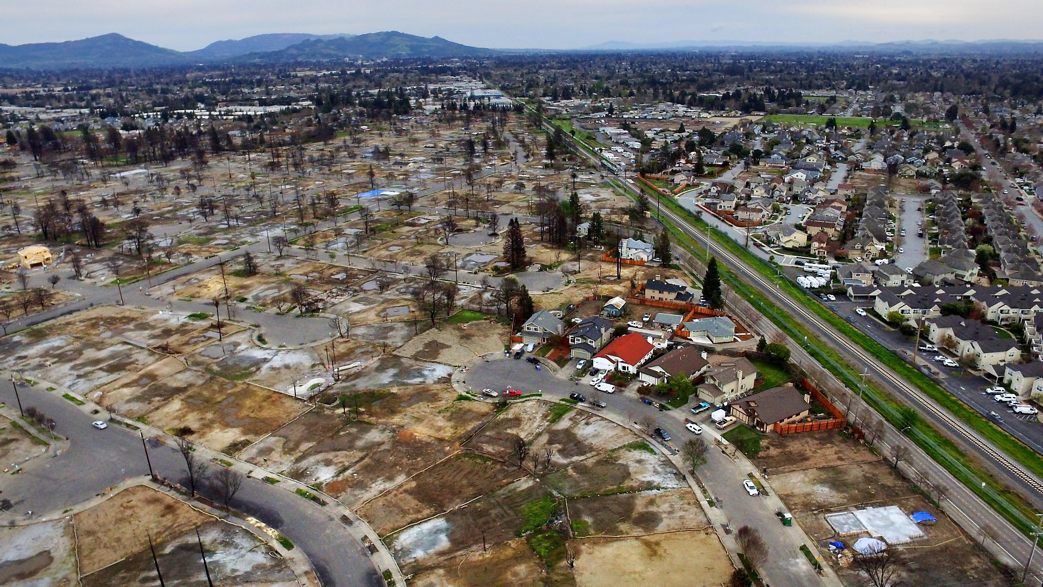 6 Months After The Wildfires Flames Extinguished But North Bays Scars Arent Healing