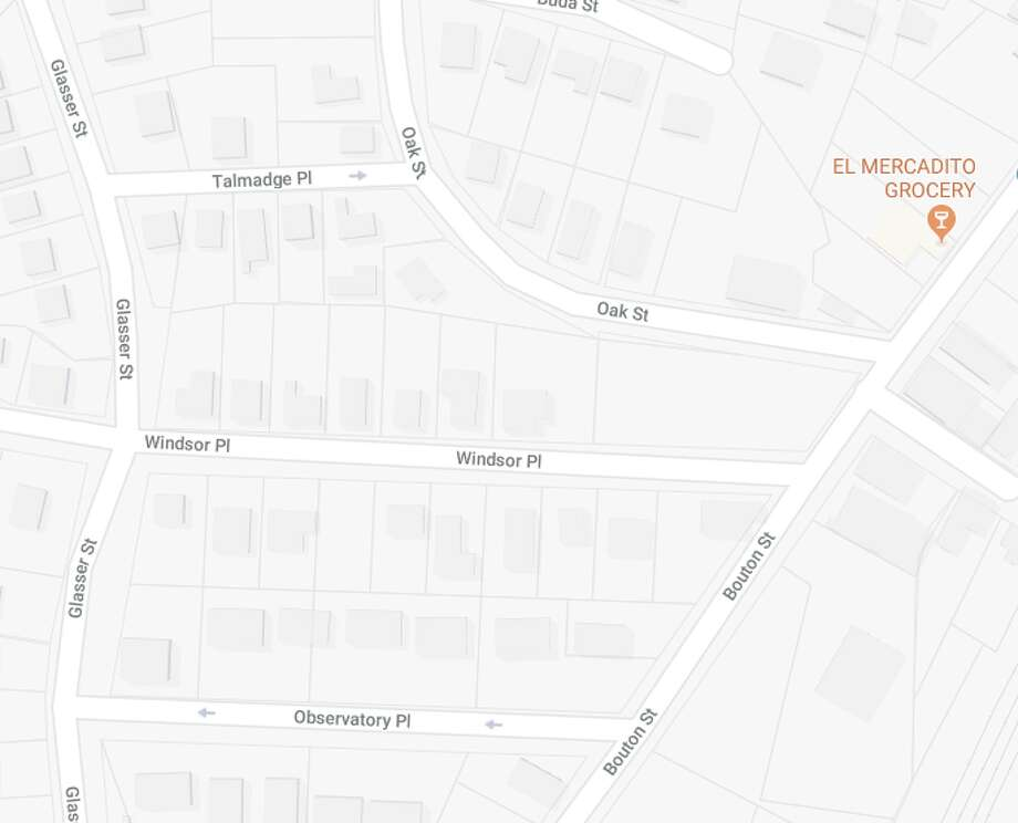 Norwalk police responded to Bouton and Oak streets for a reported shooting on Monday, April 2. Photo: Google Maps