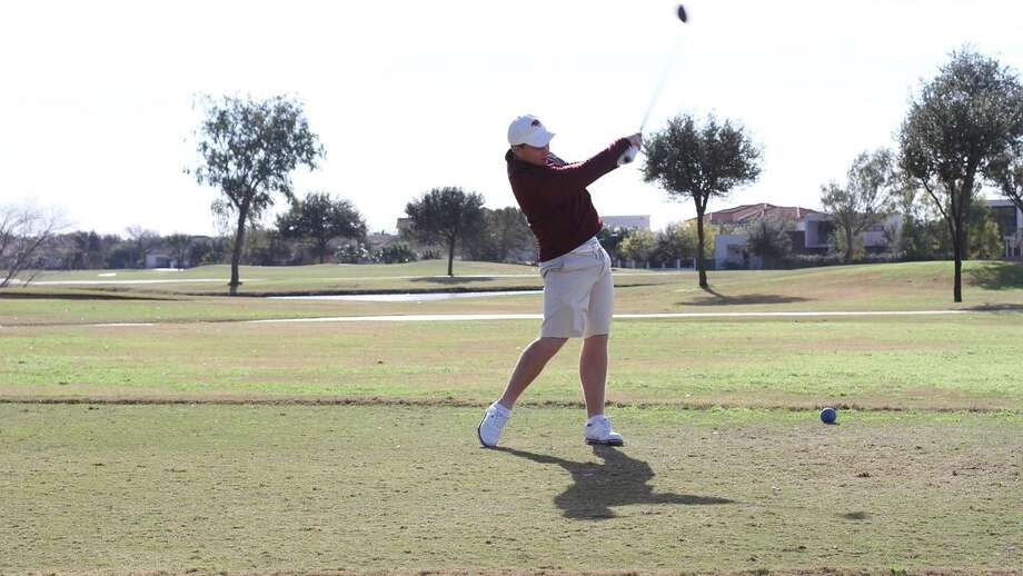 Travis Smith shot a one-under 71 in the second round to move into a tie for 11th heading into the final round of the DBU Patriot Classic. Photo: Courtesy Of TAMIU Athletics