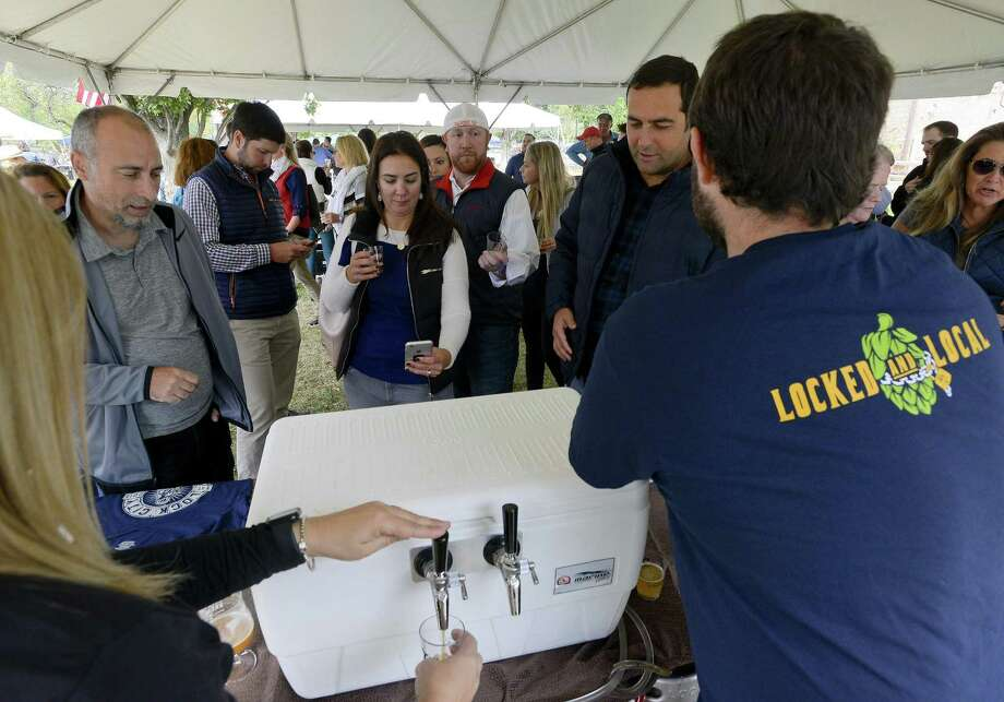 The Ninety9Bottles Craft Beer Festival returns to Norwalk on June 2, 2018, part of a Connecticut circuit of beer festivals that last year included the Last Taste of Summer Craft Beer Festival in Greenwich, pictured. Photo: Matthew Brown / Hearst Connecticut Media / Stamford Advocate