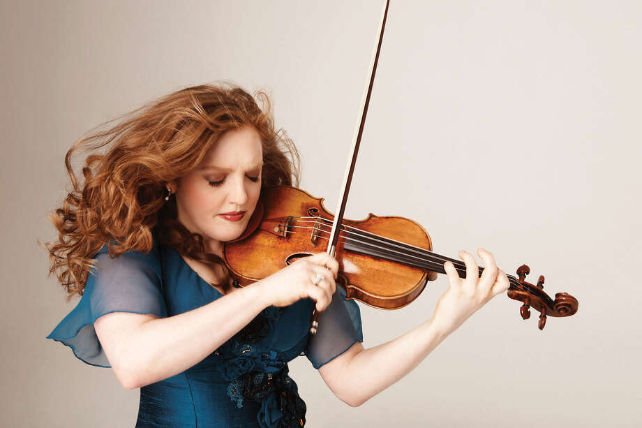 Rachel Barton Pine will be featured as guest violinist when the SIUE and SIUC orchestras perform together in a special Arts & Issues event on April 23. Photo: For The Intelligencer