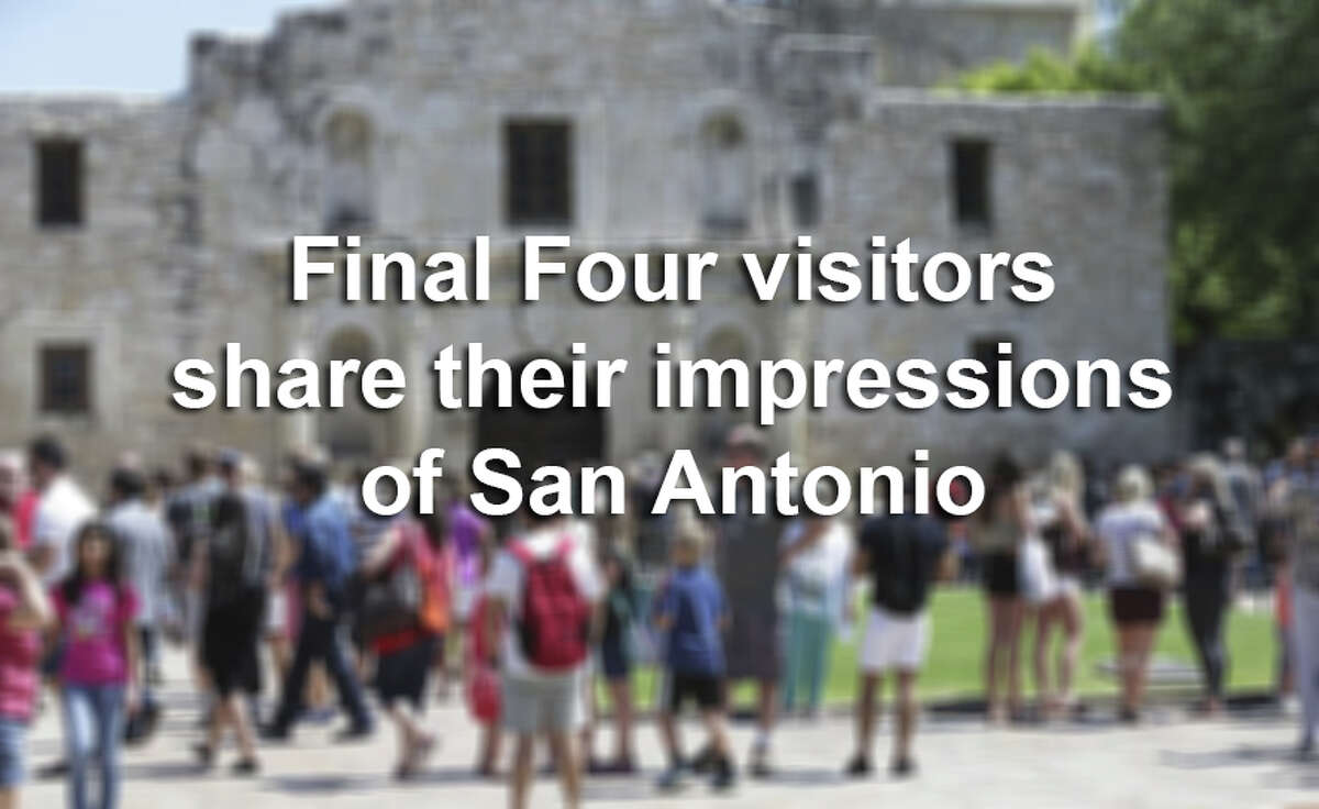 Click ahead to find out what visitors loved and hated about San Antonio.