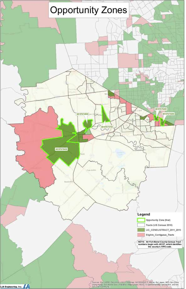 Gov. Greg Abbott has identified five census tracts in Fort Bend County as opportunity zones, an initiative created in the Tax Cuts and Job Acts of 2017 to encourage investment in low-income areas. Photo: Courtesy Photo