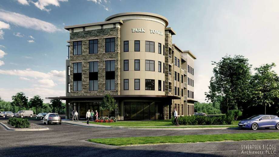 DCG Development plans to build a four-story mixed-use building near the Clifton Park Center mall. Photo: Courtesy Of DCG Development