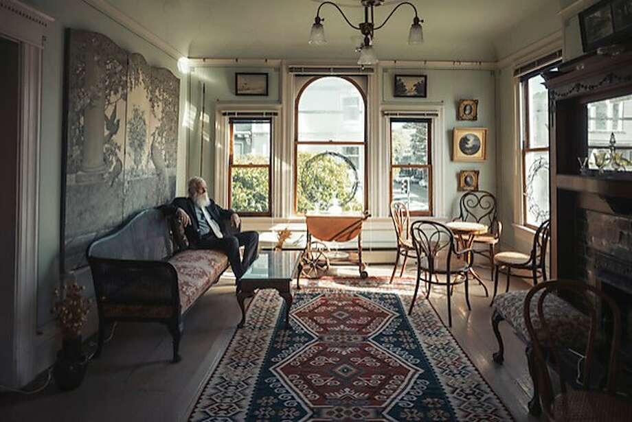 Norman Larson in his home in the Haight-Ashbury. Photo: Christopher Michel / Special To The Chronicle Via S.F. Heritage