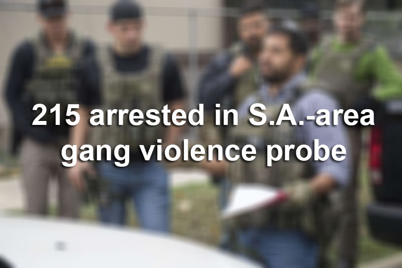 215 Arrested In San Antonio Area Gang Violence Reduction