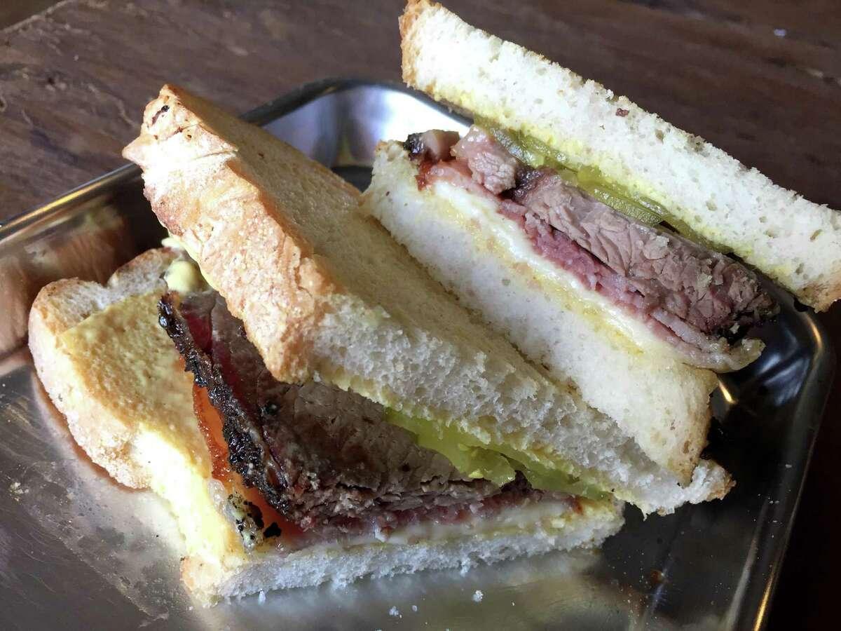 The Alt Cuban sandwich from The Dakota East Side Ice House.