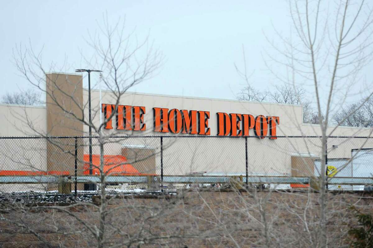 The new Stamford Home Depot, which is set to open later this month, is located at 1937 West Main St., in Stamford, Conn. Photographed on Tuesday, April 3, 2018.