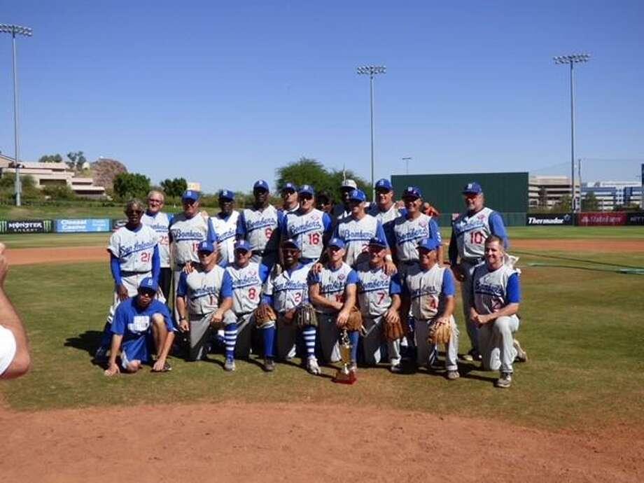 The San Antonio Bombers senior baseball team that won the 2017 World Series. Photo: Submitted Photo /