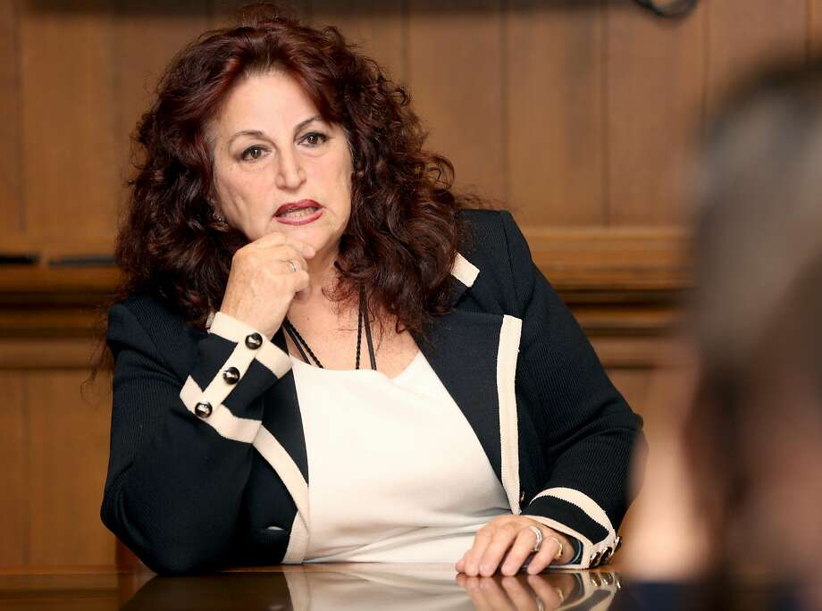 Former Supervisor Angela Alioto has been endorsed by the Police Officers Association in the San Francisco mayor's race. Photo: Liz Hafalia / The Chronicle