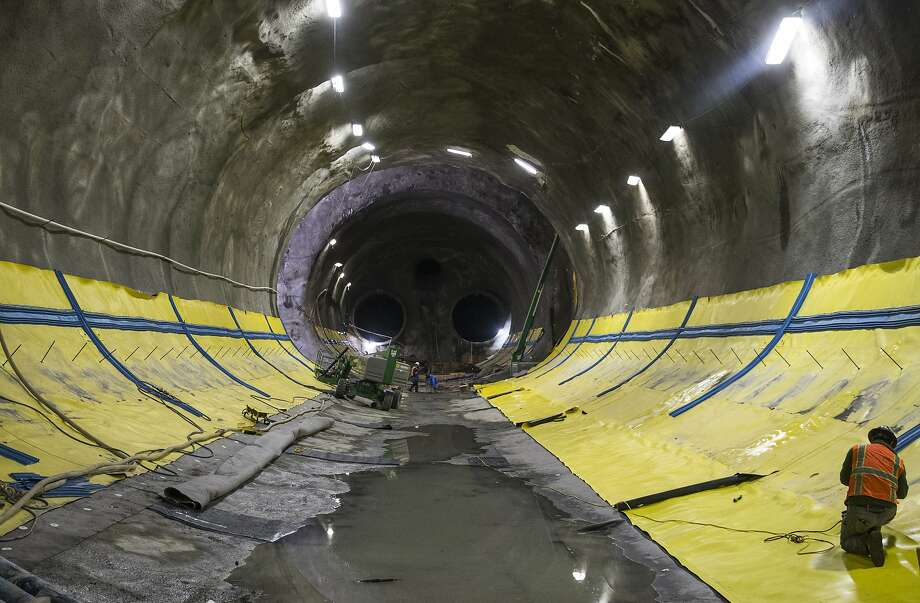 San Francisco S Central Subway Is Getting Closer To Completion Sfgate
