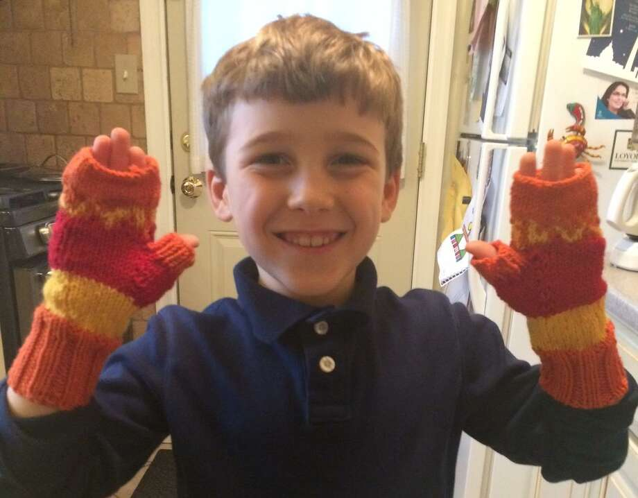 Nick's Mitts were a hit at In Sheep's Clothing in Torrington. Photo: Contributed Photo /Ginger Balch