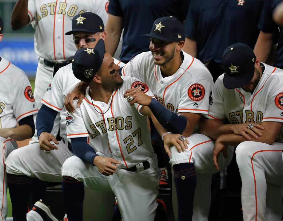 bed76f6667d PHOTOS  A look at the Houston Astros  World Series ringsHouston Astros  Carlos Correa (