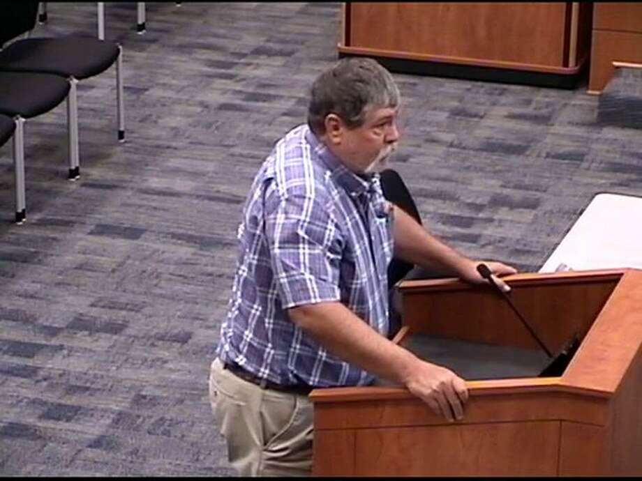 Businessman Greg Barrett confronted then-Katy ISD Superintendent Lance Hindt at a March 19, 2018 public forum and accused him of bullying him in middle school. Hindt denied the accusation, but others came forward to say Hindt was a bully in his younger years. Hindt resigned less then two months later amid accusations that he plagiarized his doctoral thesis, which he also denied. His dissertation was apparently removed from the UH archival website following a university investigation. Photo: Katy ISD Video