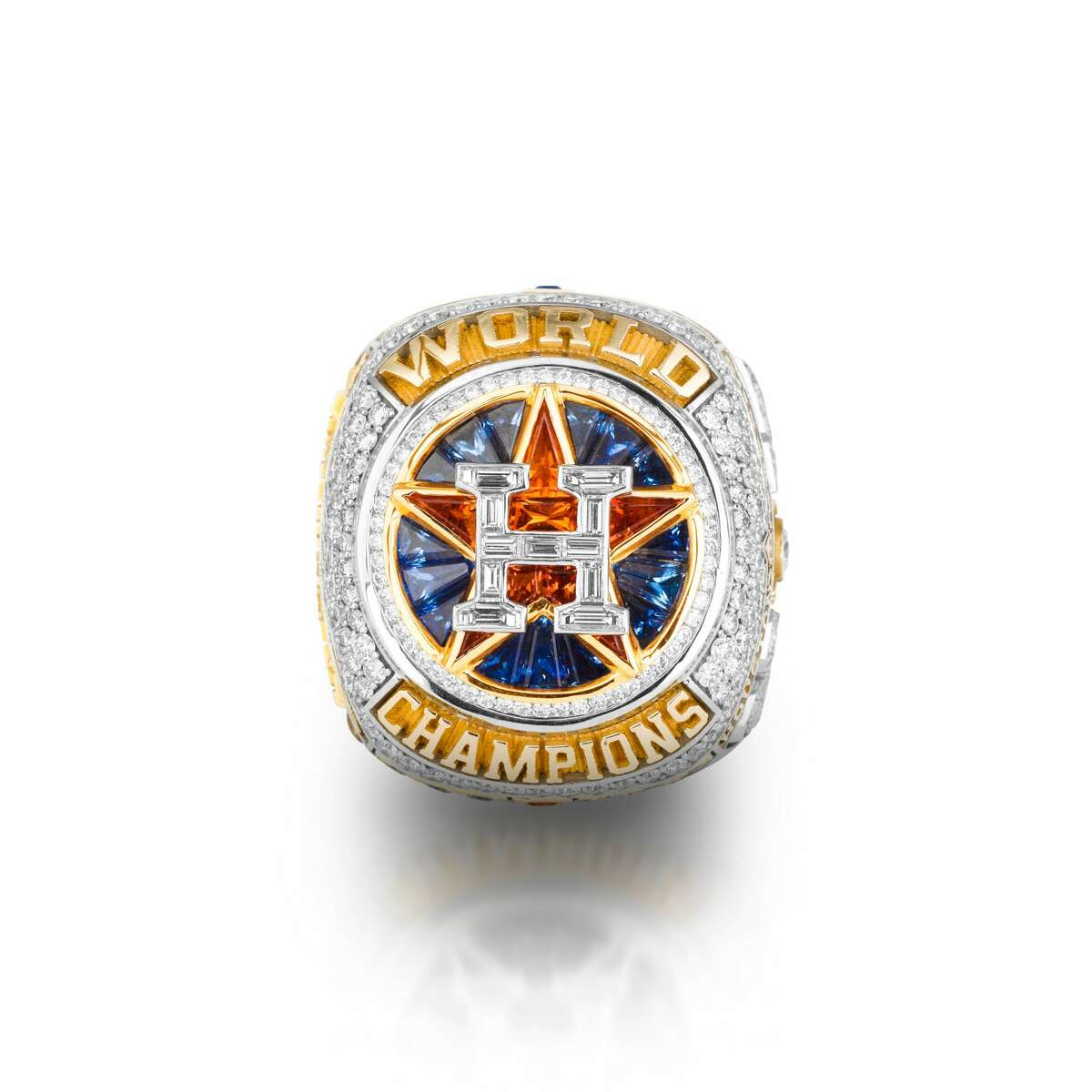 PHOTOS: Take a closer look at the Astros' World Series championship ring An authentic Houston Astros World Series championship ring was up for auction, but it has been pulled.
