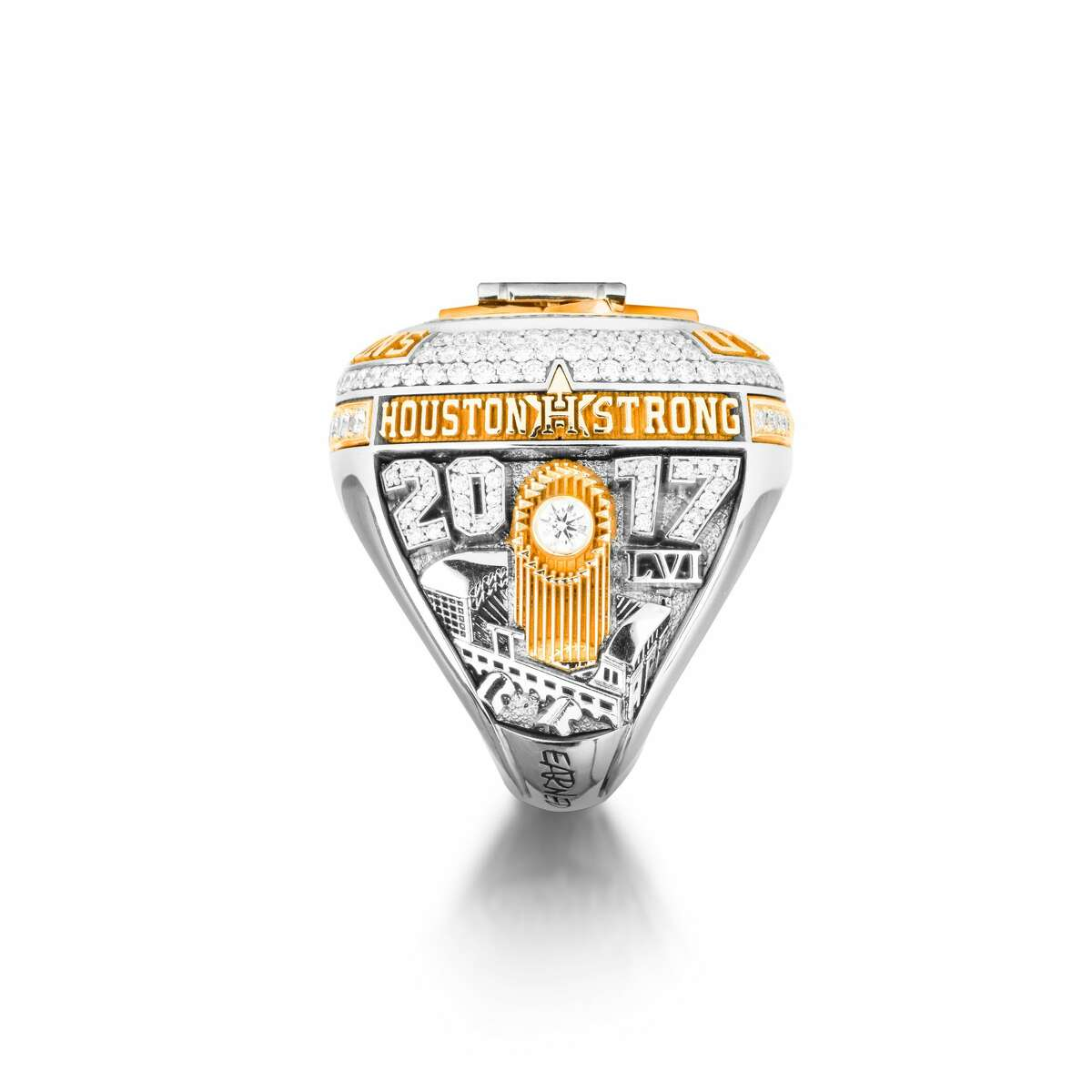 A look at the Houston Astros' World Series rings.