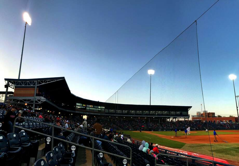 Safety netting is visible during the Texas Tech baseball against New Mexico State April 3, 2018, at Security Bank Ballpark. The netting, which protects fans from foul balls, was extended along the first and third base lines during the offseason. James Durbin/Reporter-Telegram Photo: James Durbin
