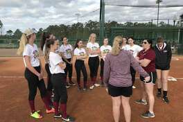 The St. Luke's softball team spent spring break in florida training at the ESPN Wide World of Sports Complex at Disney World in Florida.